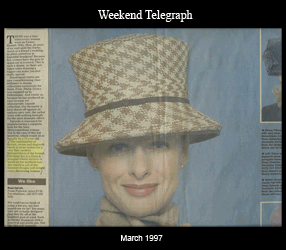 Weekend Telegraph March 1997